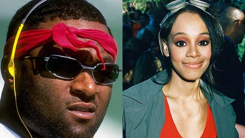 Andre Rison and Lisa 'Left Eye' Lopes