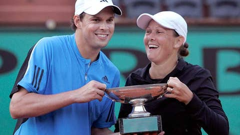 Bryan and Huber win mixed doubles
