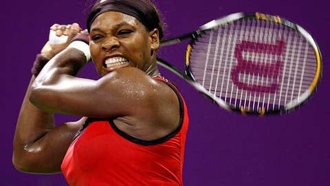 Day 2: Serena soars