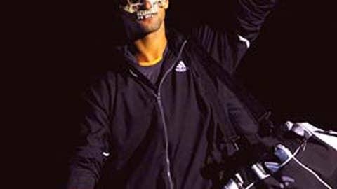 Day 4: Masked man