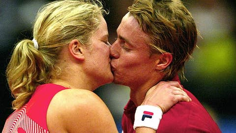 Kim Clijsters and Lleyton Hewitt