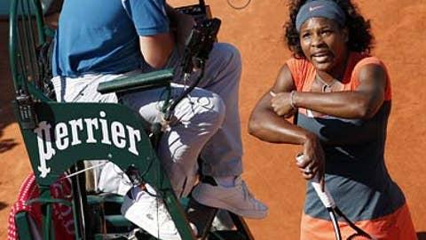 More drama for Serena