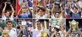Roger Federer's Grand Slam wins