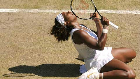 Serena wins Slam No. 11