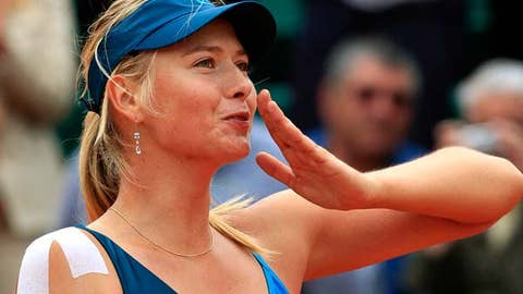 Sharapova's comeback march