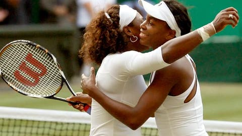 Williams sisters win doubles ... again