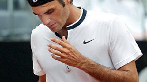 Federer flops
