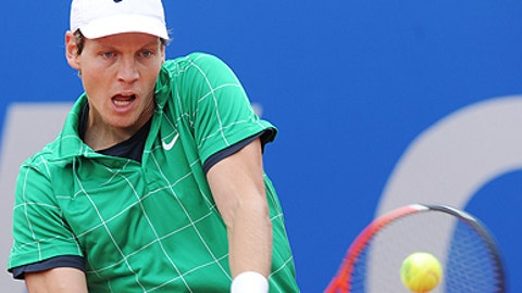 Berdych bows out