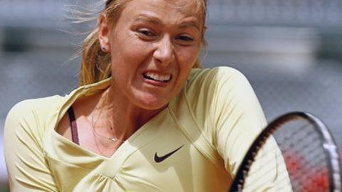 Sinking Sharapova