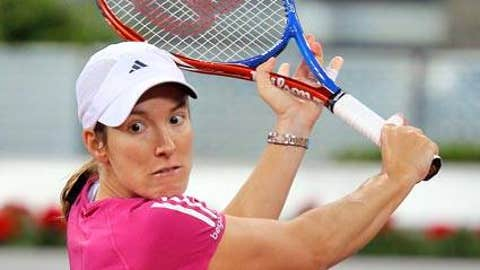 Don't bet against ... Justine Henin