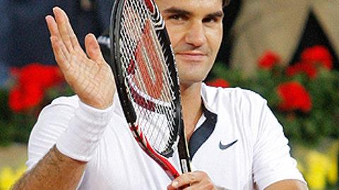 Don't bet against ... Roger Federer