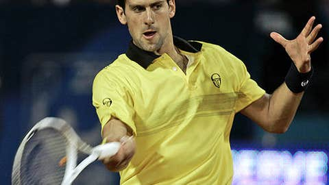 Don't expect much ... Novak Djokovic