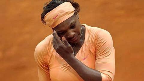 Serena goes home