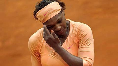 Serena goes home