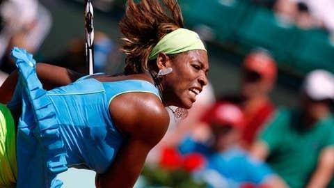 Day 2: Serena's slammin'