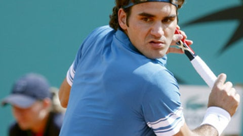 Day 4: Focused Federer