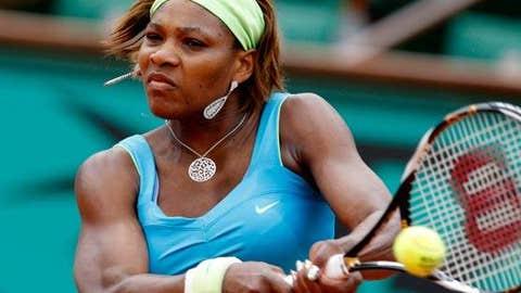 Day 7: Serena struggles