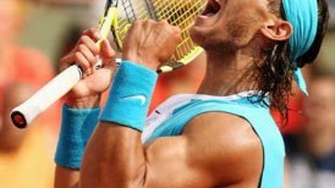 2007: French Open final (Nadal wins 6-3, 4-6, 6-3, 6-4)