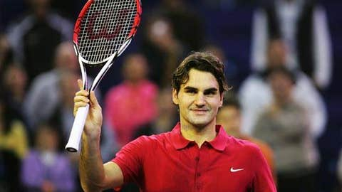 2007: Masters Cup semis (Federer wins 6-4, 6-1)