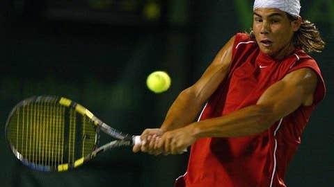2004: Miami Round of 32 (Nadal wins 6-3, 6-3)
