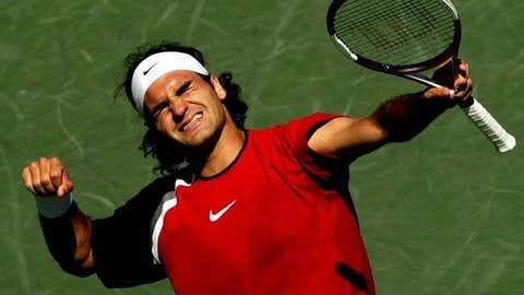 2005: Miami final (Federer wins 2-6, 6-7 (4), 7-6 (5), 6-3, 6-1)