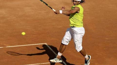 2006: Rome final (Nadal wins 6-7, 7-6 (5), 6-4, 2-6, 7-6 (5))