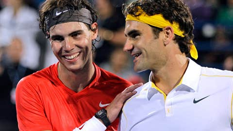 2011: Abu Dhabi final (Nadal wins 7-6, 7-6)