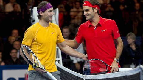 2010: 'Match for Africa' charity event (Nadal, Federer win one match each)