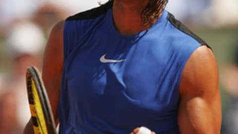2006: French Open quarterfinals (Nadal wins 6-4, 6-4 Ret.)