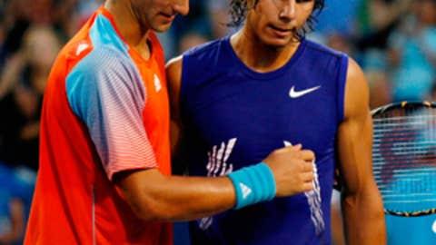 2008 Cincinnati semifinal (Djokovic wins 6-1, 7-5)