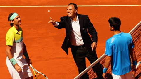 2009 Madrid semifinal (Nadal wins 3-6, 7-6(5), 7-6(9))