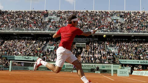 Clay courts (French Open)