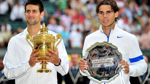 2011: Wimbledon final (Djokovic wins 6-4, 6-1, 1-6, 6-3)
