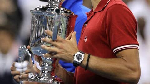 2011: US Open final (Djokovic wins 6-2, 6-4, 6-7, 6-1)