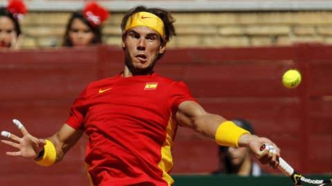Rafael Nadal (AP Photo/Sergio Torres)