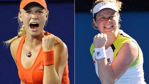(1) Wozniacki loses to (11) Clijsters