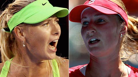 (3) Sharapova vs. Makarova