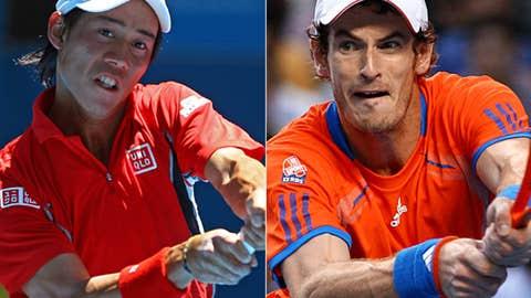 (24) Nishikori vs. (4) Murray