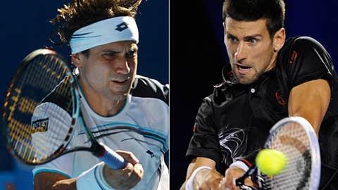 (1) Novak Djokovic vs. (5) David Ferrer