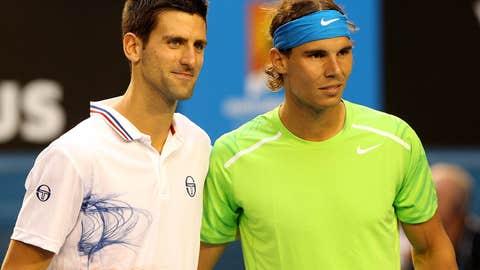 2012: Australian Open final (Djokovic wins 5-7, 6-4, 6-2, 6-7(5), 7-5)