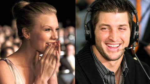 Taylor Swift and Tim Tebow