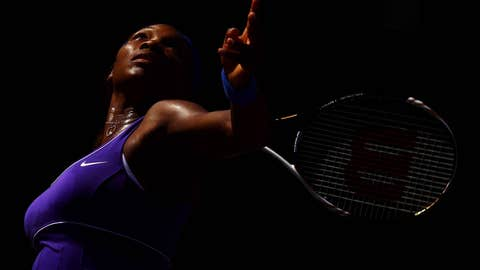 Serena shines