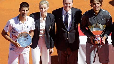 2012: Monte Carlo final (Nadal wins 6-3, 6-1)