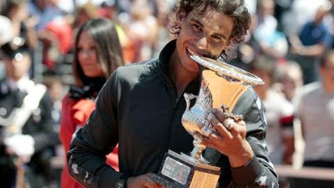2012: Italian Open final (Nadal wins 7-5, 6-3)