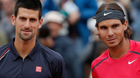 2012: French Open final (Nadal wins 6-4, 6-3, 2-6, 7-5)