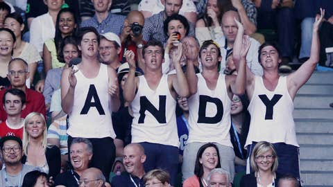Andy, Andy, he's our man ...