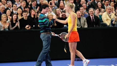 What a racquet!