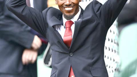 Mo Farah Being Silly
