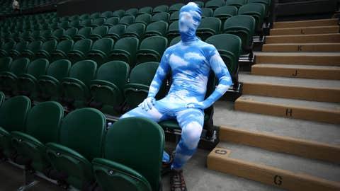 Blue Sky Suit Guy