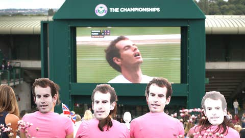 Andy Murray Face Girls